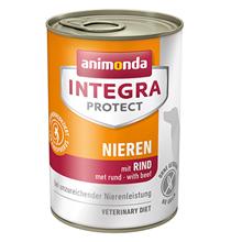 Animonda Integra Protect Renal / Ветеринарный влажный корм (консервы) Анимонда для взрослых собак при хронической Почечной Недостаточности Говядина в банках (цена за упаковку)