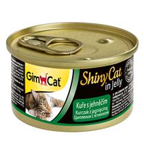 GimCat ShinyCat / Консервы Джимкэт для кошек Цыпленок с ягненком (цена за упаковку)