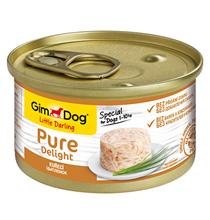 GimDog Pure Delight / Консервы Джимдог для собак Цыпленок (цена за упаковку)
