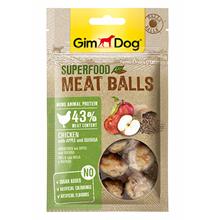 GimDog Superfood Meat Balls Chicken Apple Quinoa / Лакомство Джимдог для собак Мясные шарики Курица яблоко киноа