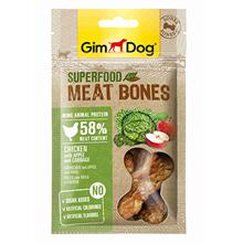 GimDog Superfood Meat Bones Chicken Apple Cabbage / Лакомство Джимдог для собак Мясные косточки Курица яблоко капуста