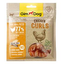 GimDog Chicken Curls / Лакомство Джимдог для собак Спиральки Куриные
