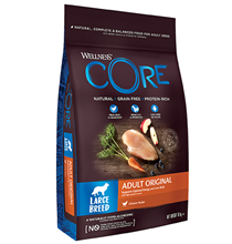 Wellness Core Adult Large Breed Original Grain free Chicken / Сухой Беззерновой корм Велнес Кор для собак Крупных пород Курица