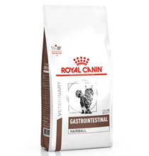 Royal Canin Gastrointestinal Hairball / Ветеринарный сухой корм Роял Канин Гастроинтестинал Хэйрбол для кошек Нарушения пищеварения Вывод волосяных комочков