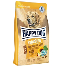 Happy Dog NaturCroq Adult Geflugel Pur & Reis / Сухой корм Хэппи Дог НатурКрок Птица с рисом