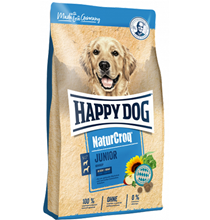 Happy Dog NaturCroq Junior / Сухой корм Хэппи Дог для Юниоров в возрасте от 7 до 18 месяцев