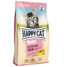Happy Cat Minkas Kitten Care / Сухой корм Хэппи Кэт для Котят Птица