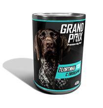 Grand Prix / Консервы Гран При для собак Нежное суфле Телятина с Овощами (цена за упаковку)