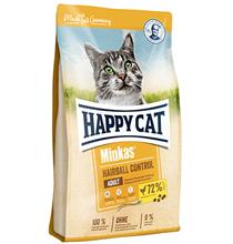 Happy Cat Minkas Hairball Control Adult / Сухой корм Хэппи Кэт для взрослых кошек Вывод волосяных комочков