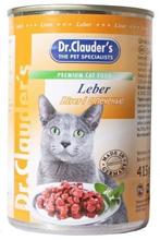 Dr Clauder Кусочки в соусе Печень / Консервы Доктор Клаудер для кошек (цена за упаковку)