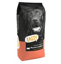 Tasty / Сухой корм Тейсти для собак Вкусная Говядина