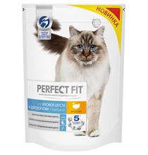 Perfect Fit Cat Hair & Skin / Сухой корм Перфект Фит для кошек для Красивой шерсти и здоровой кожи Индейка