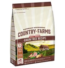 Country Farms Puppy Small Breed Grain free Turkey / Сухой Беззерновой полнорационный корм Кантри Фармз для Щенков Мелких пород с высоким содержанием Индейки