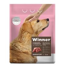 Winner Adult / Сухой корм Винер для взрослых собак Крупных пород Говядина