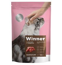 Winner Adult / Сухой корм Винер для взрослых кошек всех пород Говядина