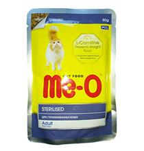Заказать Me-O Cat Adult Sterilised / Паучи для взрослых Стерилизованных кошек и Кастрированных котов Цена за упаковку по цене 570 руб