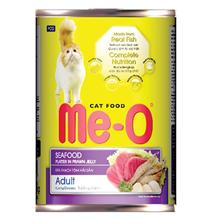 Me-O Cat Adult Seafood / Консервы Мио для взрослых кошек Морепродукты (цена за упаковку)