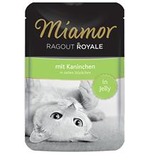 Miamor Ragout Royale mit Kaninchen in Jelly / Паучи Миамор для кошек Кролик кусочки в желе (цена за упаковку)