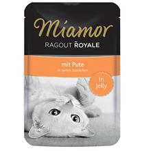 Miamor Ragout Royale mit Pute in Jelly / Паучи Миамор для кошек Индейка кусочки в желе (цена за упаковку)