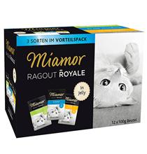Miamor 3 Sorten Vorteilspack in Jelly Huhn & Thunfish & Kaninchen / Паучи Миамор Мультибокс для кошек кусочки в желе Курица Тунец Кролик (цена за упаковку)