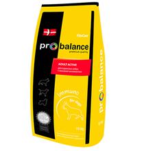 Probalance Adult Active Immuno / Корм Пробаланс для взрослых собак с Высокой активностью