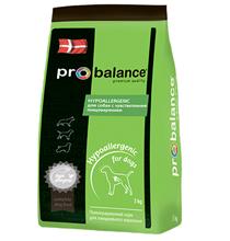 Probalance Hypoallergenic / Корм Пробаланс для взрослых собак Гипоаллергенный