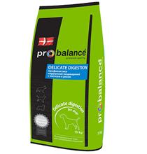 Probalance Delicate Digestion / Корм Пробаланс для взрослых собак Профилактика нарушений пищеварения Лосось рис