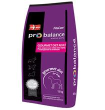 Probalance Gourmet diet Adult / Корм Пробаланс для взрослых собак Говядина Ягненок