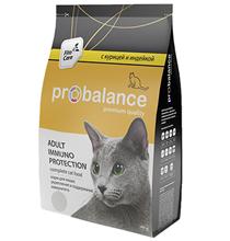 Probalance Adult Immuno Protection / Корм Пробаланс для взрослых кошек Курица Индейка