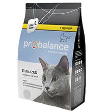 Probalance Sterilized / Корм Пробаланс для Стерилизованных кошек и Кастрированных котов