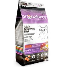 Probalance Gourmet Diet / Корм Пробаланс для взрослых кошек Говядина Ягненок