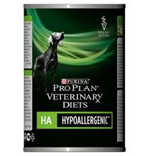 Purina Pro Plan Veterinary Diets HA Hypoallergenic / Лечебные консервы Пурина Про План Ветеринарная Диета для собак всех возрастов Гипоаллергенные Пищевая аллергия (цена за упаковку)