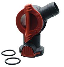 Fluval AquaStop FX4 / FX5/FX6 / Кран Флювал для фильтра с 2 уплотнительными кольцами