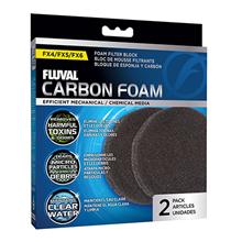 Fluval FX4 / FX5/FX6 / Губка Флювал для фильтров Угольная для фильтров