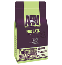 AATU for Cats 85 / 15 Free run Duck / Сухой корм Аату для кошек Утка