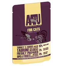AATU for Cats Turkey & Goose / Паучи Аату для взрослых кошек Индейка Гусь (цена за упаковку)