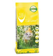 Van Cat Natural Standart / Комкующийся наполнитель Ван Кэт для кошачьих туалетов Стандарт Без пыли