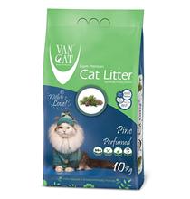Van Cat Pine / Комкующийся наполнитель Ван Кэт для кошачьих туалетов Без пыли с ароматом Соснового леса