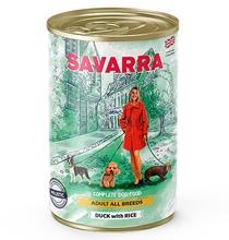 Savarra Adult All Breeds Duck with Rice / Консервы Саварра для взрослых собак всех пород Утка с рисом (цена за упаковку)
