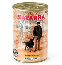 Savarra Adult All Breeds Turkey with Rice / Консервы Саварра для взрослых собак всех пород Индейка с рисом (цена за упаковку)