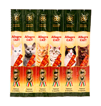 B&B Allegro Cat / Лакомство Би энд Би Аллегро для кошек Колбаски Курица Печень