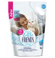 Little Friends Original / Наполнитель Литтл Френдз для кошачьего туалета Силикагелевый без запаха