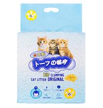 Hakase Arekkusu Bio Clumping Original / Наполнитель Хакасэ Ареккусу для кошачьего туалета Тофу Комкующийся