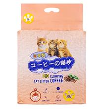 Hakase Arekkusu Bio Clumping Coffee / Наполнитель Хакасэ Ареккусу для кошачьего туалета Кофе Комкующийся