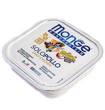 Monge Dog Monoprotein Solo Chicken B&S / Влажный корм Паштет Монж Монопротеиновый Белка и Стрелка для взрослых собак Курица (цена за упаковку)