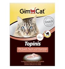 GimCat Topinis Snack / Кормовая добавка Джимкэт для кошек Мышки с Творогом, Таурином и Витаминами