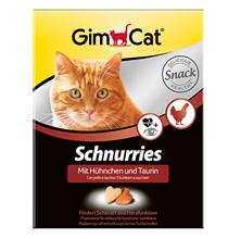 GimCat Schnurries Snack Huehnchen Taurin / Кормовая добавка Джимкэт для кошек Сердечки с Курицей и Таурином