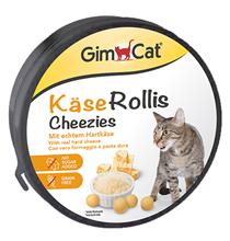GimCat Kaese Rollis Cheezies / Кормовая добавка Джимкэт для кошек Сырные ролики