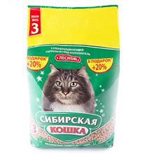 Сибирская Кошка / Наполнитель для кошачьего туалета Лесной