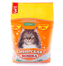 Сибирская Кошка / Наполнитель для кошачьего туалета Бюджет